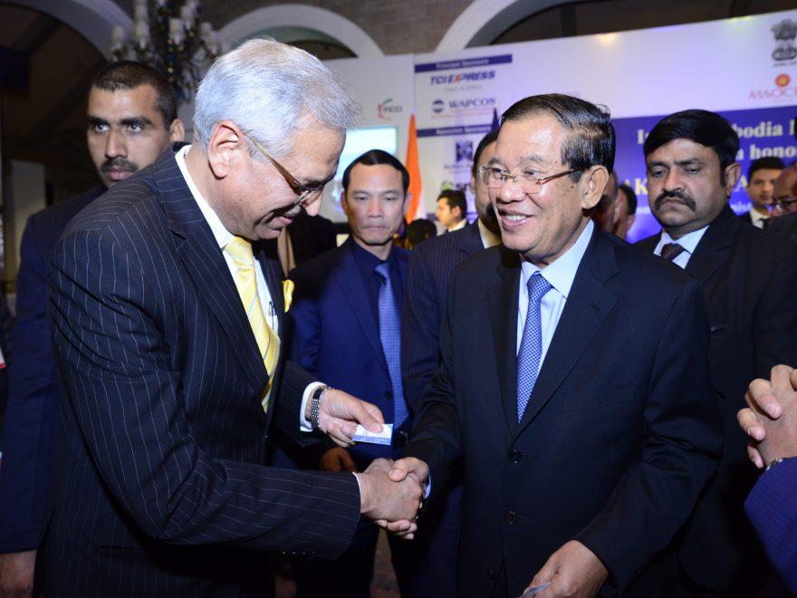 H.E. Mr Samdech Akka Moha Sena Padei Techo HUN SEN, Hon'ble Prime Minister of the Kingdom of Cambodia