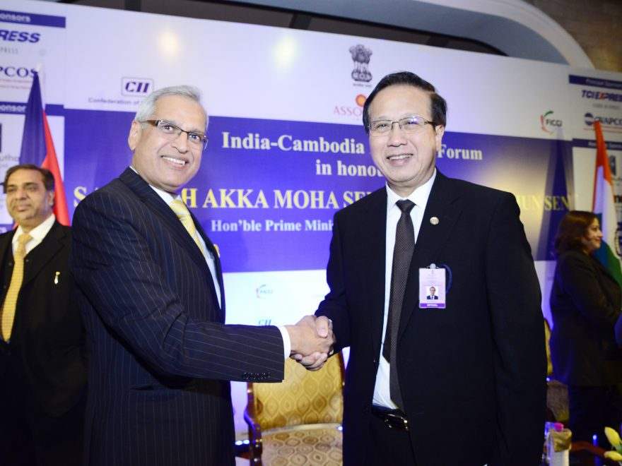 Meeting with H.E. Mr Sorasak Pan, Hon'ble Minister of Commerce,Kingdom of Cambodia