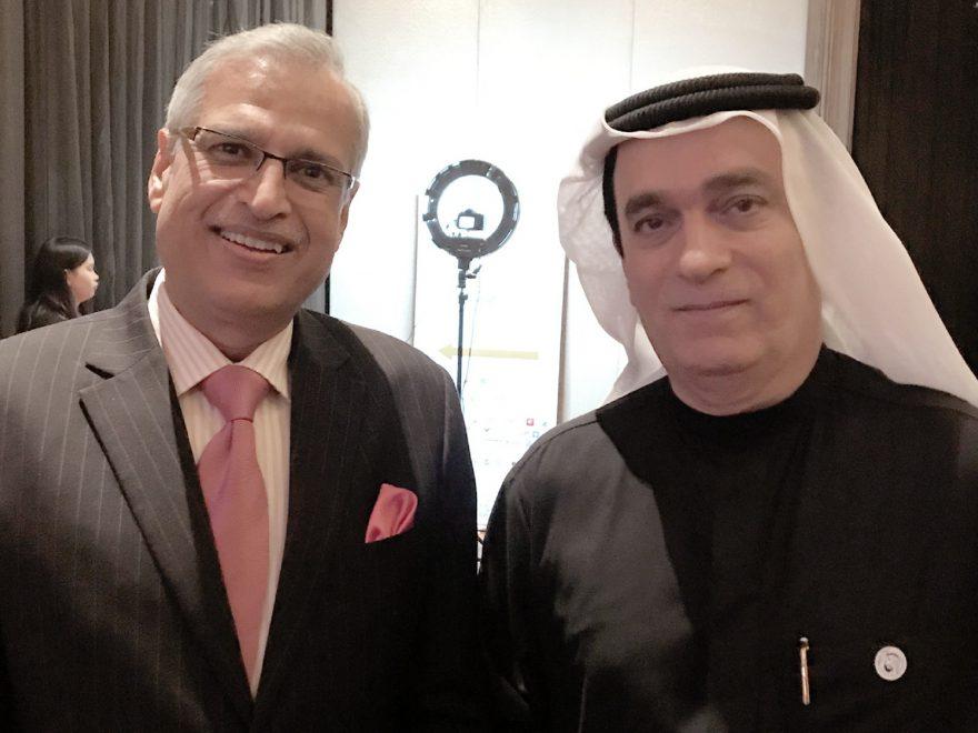 Meeting with H.E.Dr Ahmed Abdul Rahman Albanna, Ambassador, United Arab Emirates (UAE)