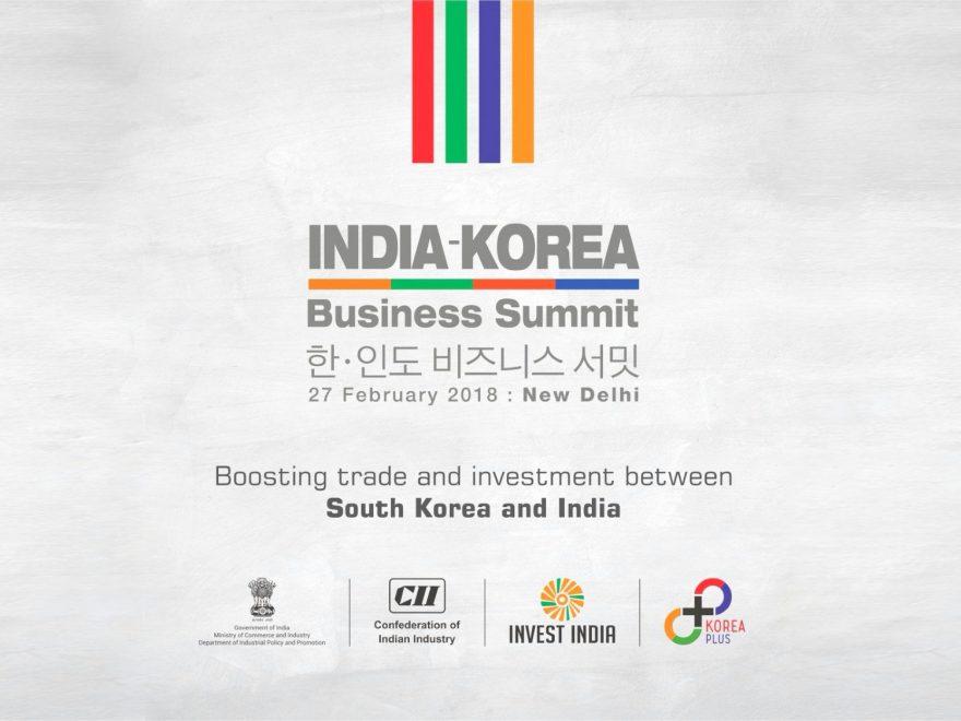 India Korea Business Summit 2018