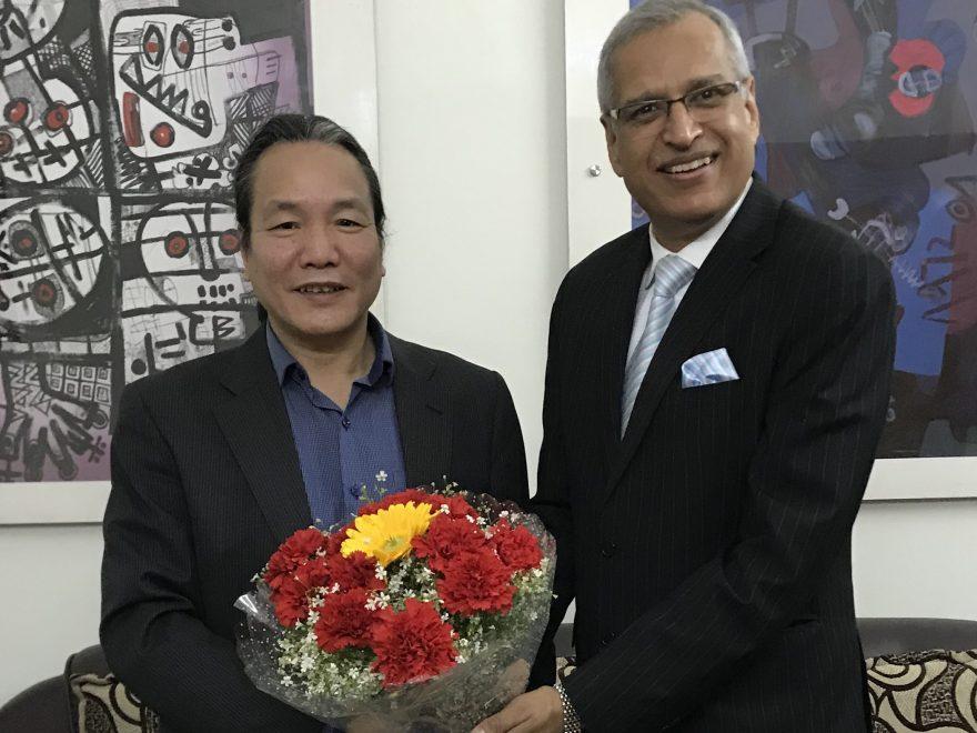 Meeting with Mr Tran Le Tien