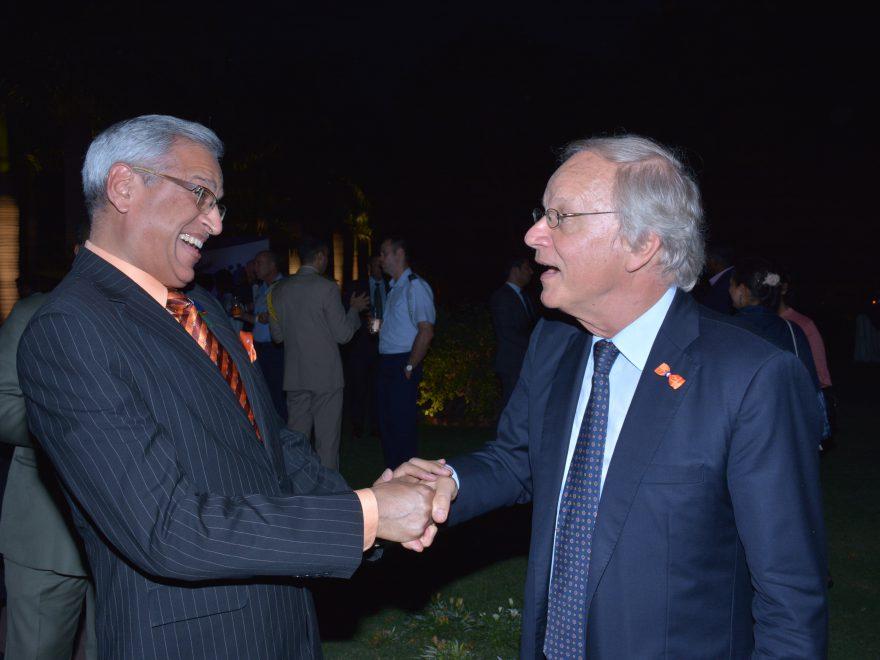 Ambassador of The Netherlands H.E. Mr Alphansus Stoelinga