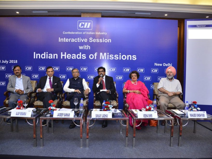 Interactive Session with Indian Heads of Missions