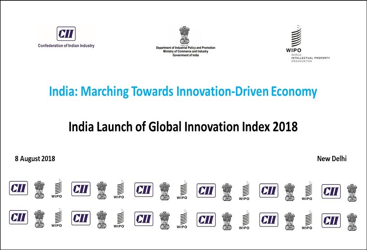 India Launch of Global Innovation Index 2018